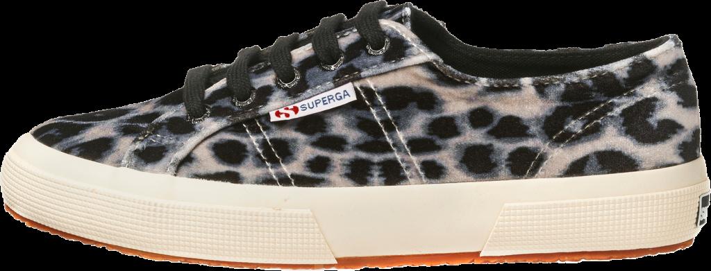 2750 FANVELVETW leopard brown - SUPERGA